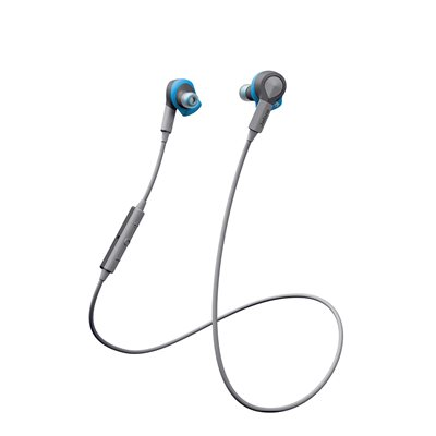 Jabra Sport Coach Bluetooth Stereo Earphones, Blue
