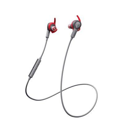 Jabra Sport Coach Bluetooth Stereo Earphones, Red