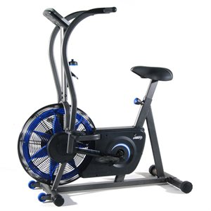 Stamina Deluxe Air Bike with Dual Action Handlebars