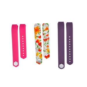 Affinity Fitbit ALTA / ALTA HR band 3pk TPU, Mixed Floral