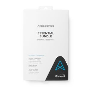 Axessorize Essential Bundle for iPhone 8 / 7 / SE2