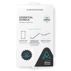 Axessorize Essential Bundle PROShield for Apple iPhone 12 Mini