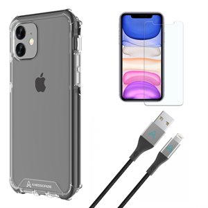Axessorize Essential Bundle PROShield pour iPhone Xr / 11