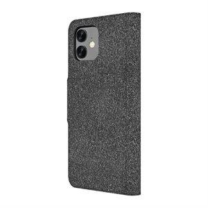 Axessorize LUXFolio case for iPhone XR / 11 - Comet Black