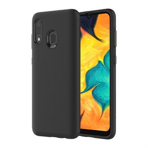 Axessorize PROTech Case for Samsung Galaxy A20, Black