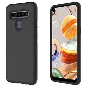 Axessorize PROTech Case for LG K61, Black