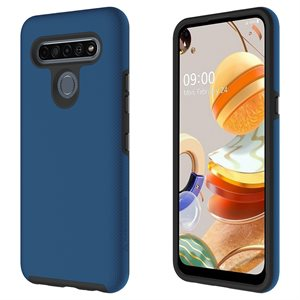 Axessorize PROTech Case for LG K61, Blue