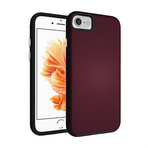 Axessorize PROTech case for iPhone 7 / 8, Cobalt Burgundy