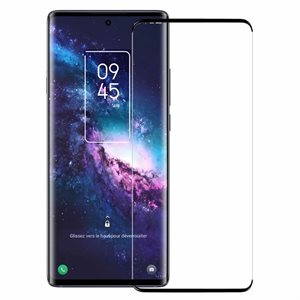 Axessorize Curved Tempered Glass Screen Protector for TCL 20 Pro 5G - Clear
