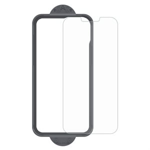 Axessorize ARMORGlass Pro Screen Protector with tray iPhone 13 / 13 Pro - Clear