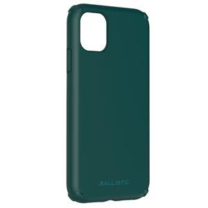 Ballistic Soft Jacket case for iPhone 11, Dark Green