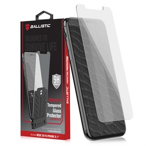 Ballistic Premium Tempered Glass with Tray for iPhone 11, Clear
