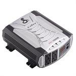Cobra PRO 1500 Watt Professional Grade Power Inverter - Silver Black
