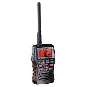 Cobra MR HH150 FLT 3 Watt Hand Held VHF Radio - Black