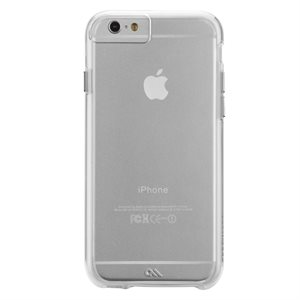 Case-Mate Naked Tough Case for iPhone 6 / 6s, Clear / Clear