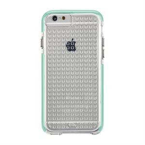 Case-Mate Tough Air Case for iPhone 6 / 6s, Clear / Aqua