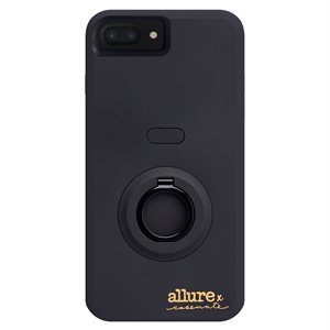 Case-Mate Allure Selfie Case for iPhone 6 Plus / 6s Plus / 7 Plus / 8 Plus, Black