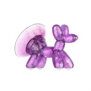Case-Mate Balloon Dog Stand Ups, Sheer Crystal Purple