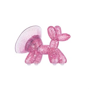 Case-Mate Balloon Dog Stand Ups, Sheer Crystal Purple