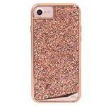 Case-Mate Brilliance Tough Case for iPhone 6s / 7 / 8, Rose Gold