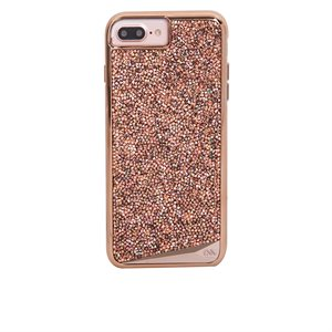 Case-Mate Brilliance Case for iPhone 6 Plus / 6s Plus / 7 Plus / 8 Plus, Rose Gold