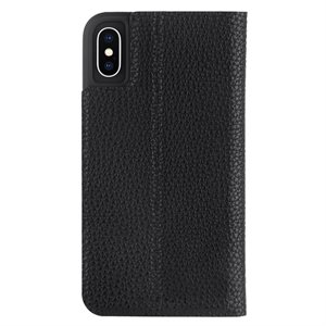Case-Mate Barely There Folio Case for iPhone X / Xs - Black