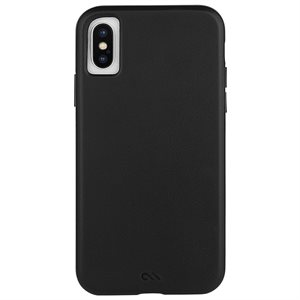 Case-Mate Barely There Leather Case for iPhone X / Xs - Black
