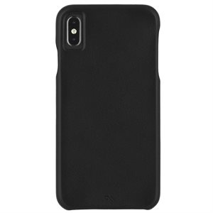Case-Mate Barely There Leather Case for iPhone Xs Max - Black