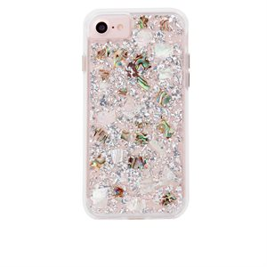 Case-Mate Karat Case for iPhone 6s Plus / 7 Plus / 8 Plus, Mother of Pearl