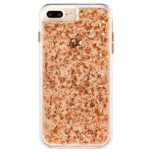 Case-Mate Karat Case for iPhone 6s Plus / 7 Plus / 8 Plus, Rose Gold
