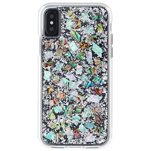 Case-Mate Karat Case for iPhone X / Xs, Mother of Pearl
