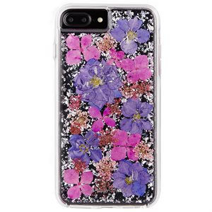 Case-Mate Karat Petals Case for iPhone 6s Plus / 7 Plus / 8 Plus, Purple