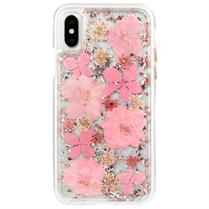 Case-Mate Karat Petals Case for iPhone X / XS, Pink