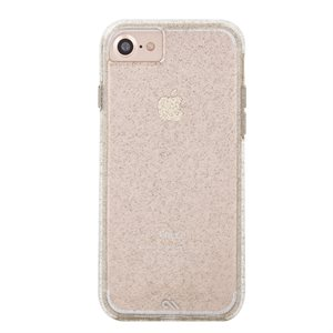 Case-Mate Naked Tough Sheer Glam Case for iPhone 6 / 6s / 7 / 8, Champagne