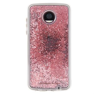 Case-Mate Waterfall Case for Moto Z2 Play, Rose Gold