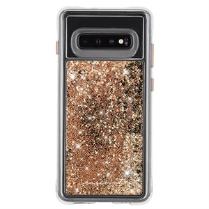 Case-Mate Waterfall for Samsung Galaxy S10, Gold