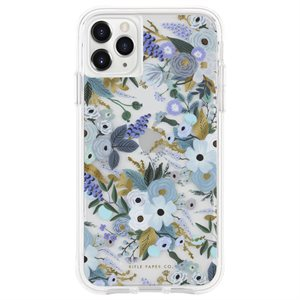Case-Mate Rifle Paper Case for iPhone11 Pro, Garden Party Blue