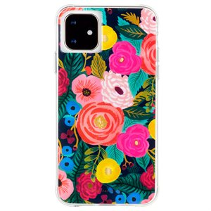 Case-Mate Rifle Paper Case for iPhone 11, Juliet Rose