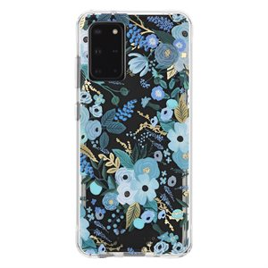 Case-Mate Rifle Paper Case for Samsung Galaxy S20 Plus, Garden Party Blue