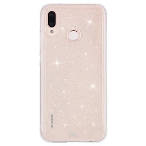 Case-Mate Sheer Crystal Case for Huawei P20 Lite, Clear