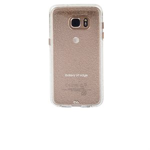 Case-Mate Naked Tough Sheer Glam Case for Samsung Galaxy S7 Edge, Champagne