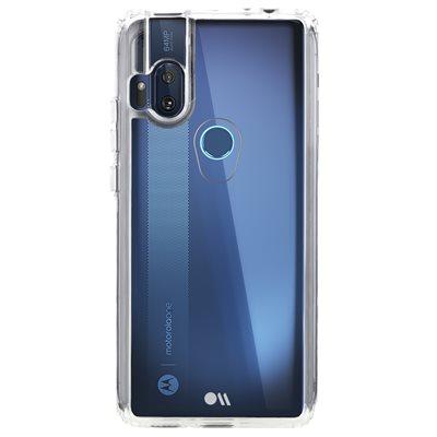 Case-Mate Tough Clear Case for Motorola One Hyper, Clear
