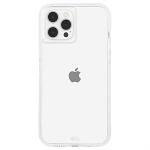 Case-Mate Tough Clear Plus Case for iPhone 12 Pro Max with Micropel, Clear