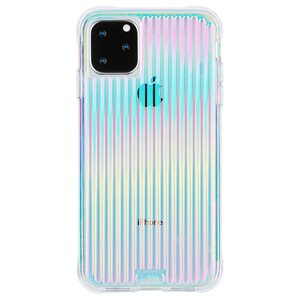 Case-Mate Tough Groove Case for iPhone 11 Pro Max, Iridescent