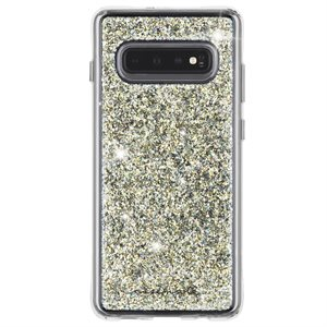 Case-Mate Twinkle Case for Samsung Galaxy S10, Stardust