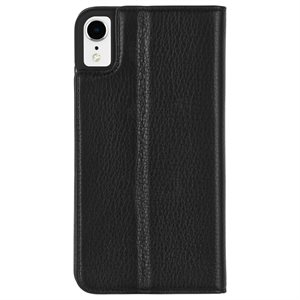 Case-Mate Wallet Folio Case for iPhone XR, Black