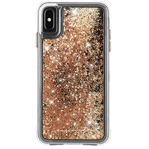 Case-Mate Waterfall Case for iPhone Xs Max, Gold