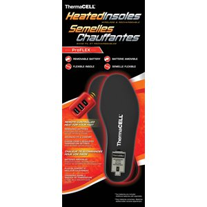 Thermacell Proflex Heated Insole Red - Medium