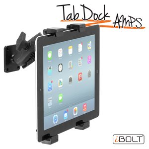 "iBOLT TabDock AMPs -Drill Base Mount for 7-10"" Tab"