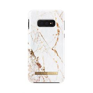 iDeal of Sweden Fashion Case Samsung Galaxy S10e, Carrara Gold